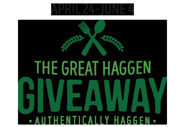 haggen com giveaway