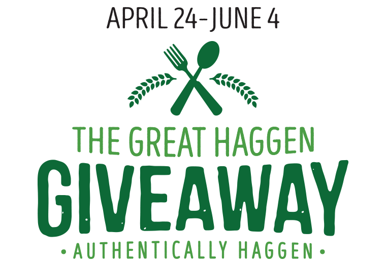 Great Haggen Giveaway Logo