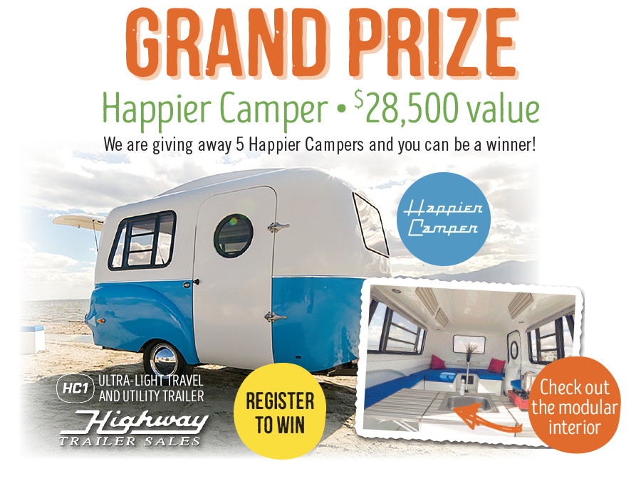 Grand Prize - Happier Camper Trailer